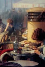 Fotografía © Saul Leiter. Paris, 1959