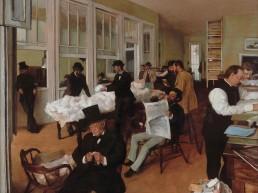 © Edgar Degas. Mercado de Algodón, 1873