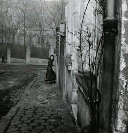 Fotografía © Willy Ronis Rue de la Cloche, Ménilmontant, París, 1948