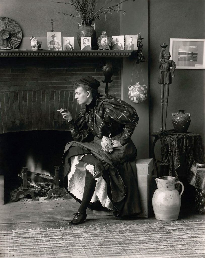 Autorretrato  © Frances Benjamin Johnson `New Woman´