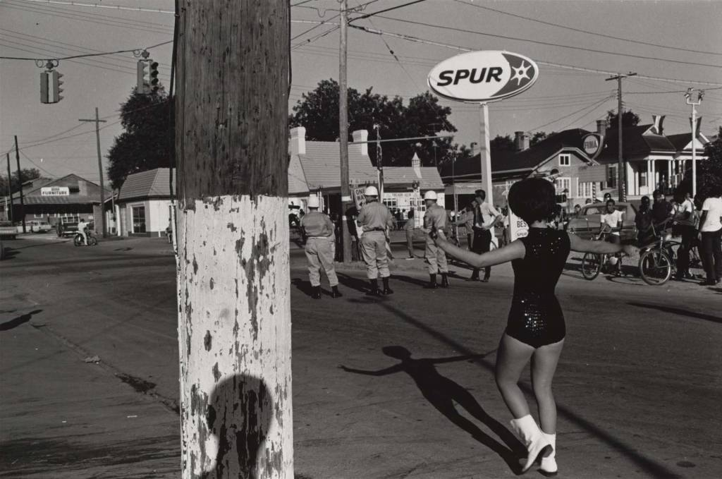 Fotografía © Lee Friedlander. Lafayette, Louisiana 1968