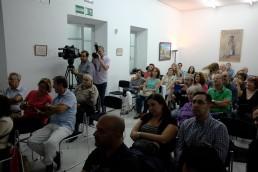 Jornadas de Fotografía de Calle por QuitarFotos y Photocertamen en Sevilla. El Archivo Fotográfico y Gasán. Prensa en Centro Cívico Casa de Las Columnas.