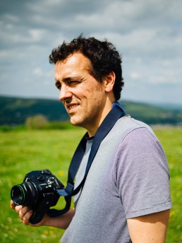 Fotografía de perfil de Guille Ibáñez.