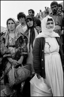 Fotografía Bruce Gilden © IRAQ, Kurdistan, 1991